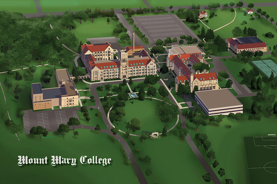 Mount Mary College  Painting