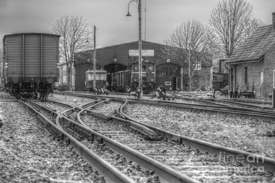 Old Railway Station Photograph by Four Hands Art
