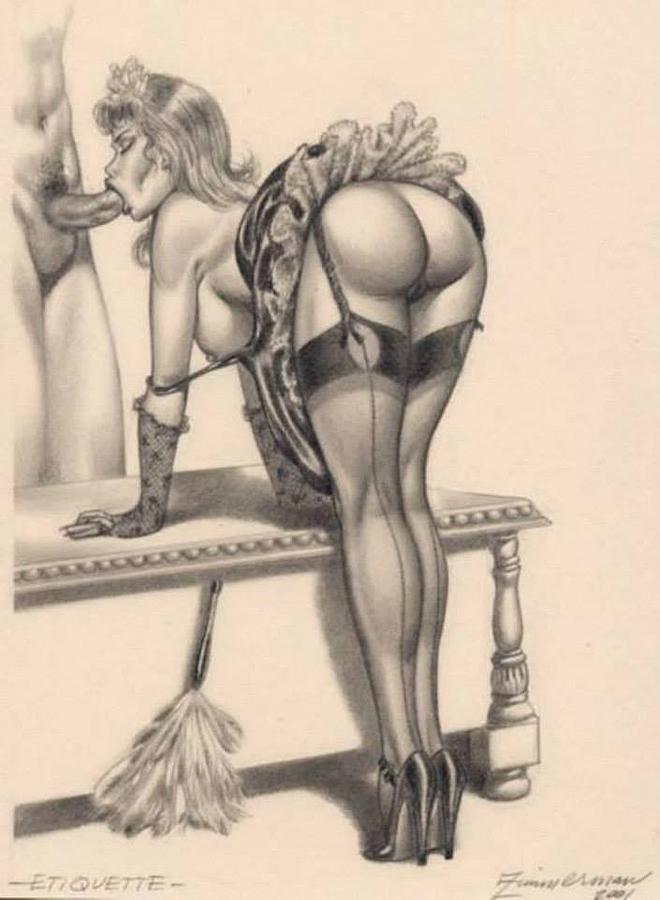 Porn drawing