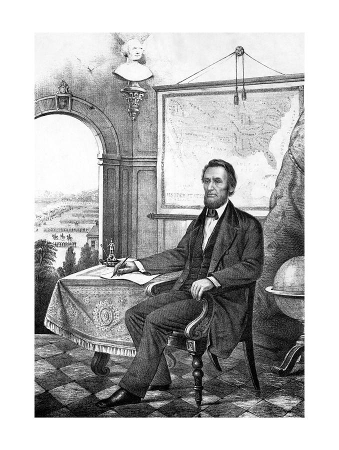 President Abraham Lincoln Drawing