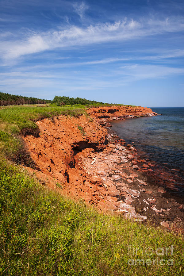 Prince Edward Island Coastline Photograph