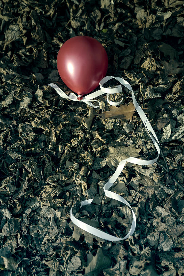 Red Balloon Photograph