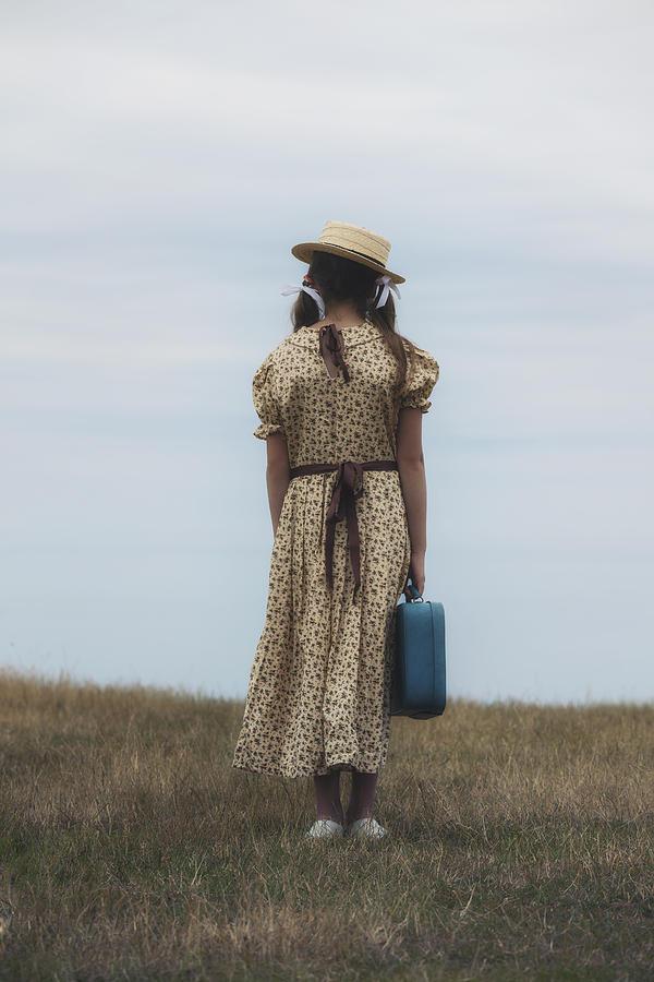 Girl Photograph - Refugee Girl by Joana Kruse