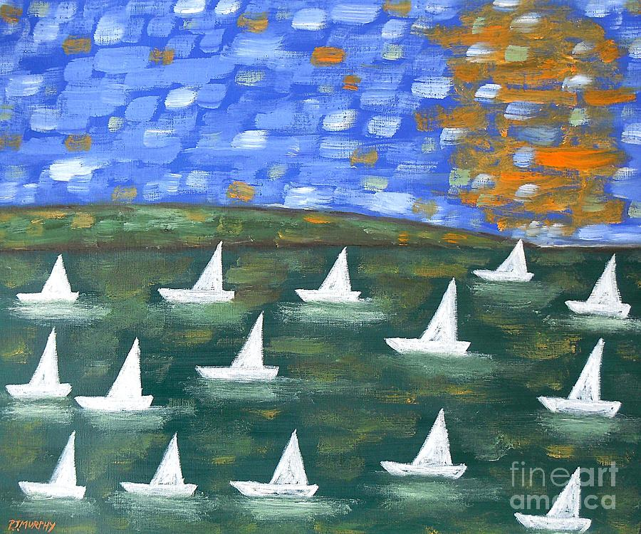 Regatta Painting  - Regatta Fine Art Print