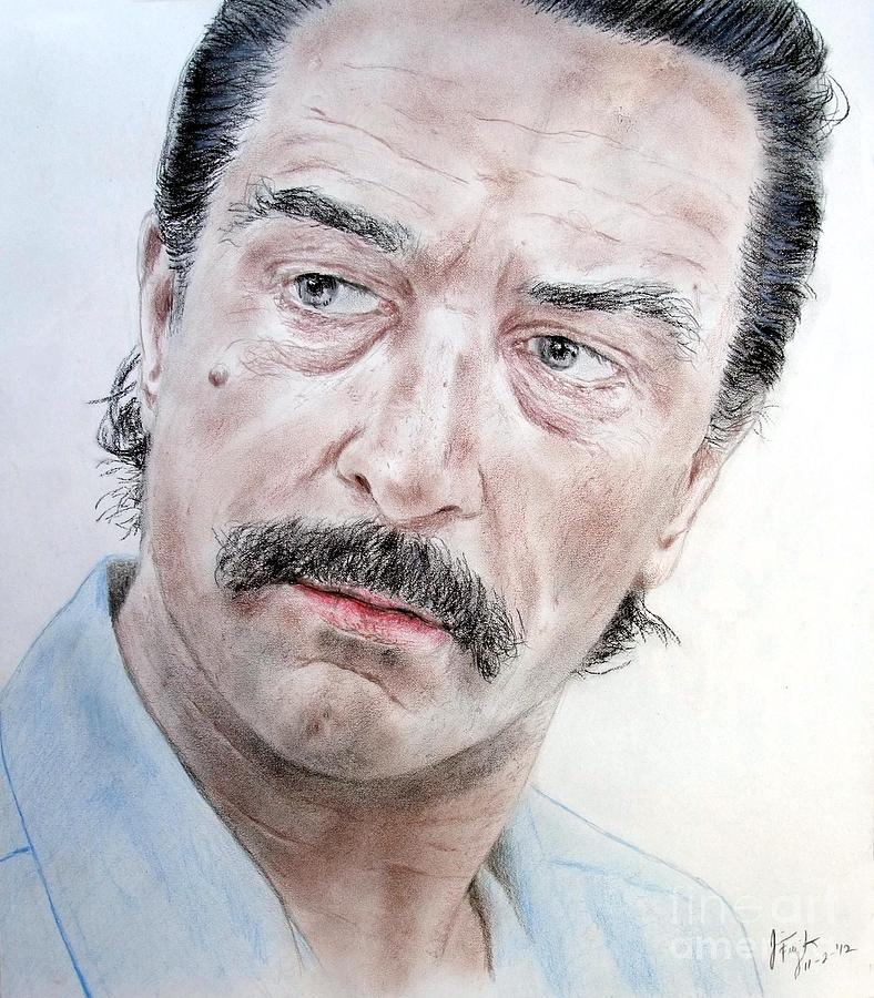 Robert De Niro In Jackie Brown Drawing