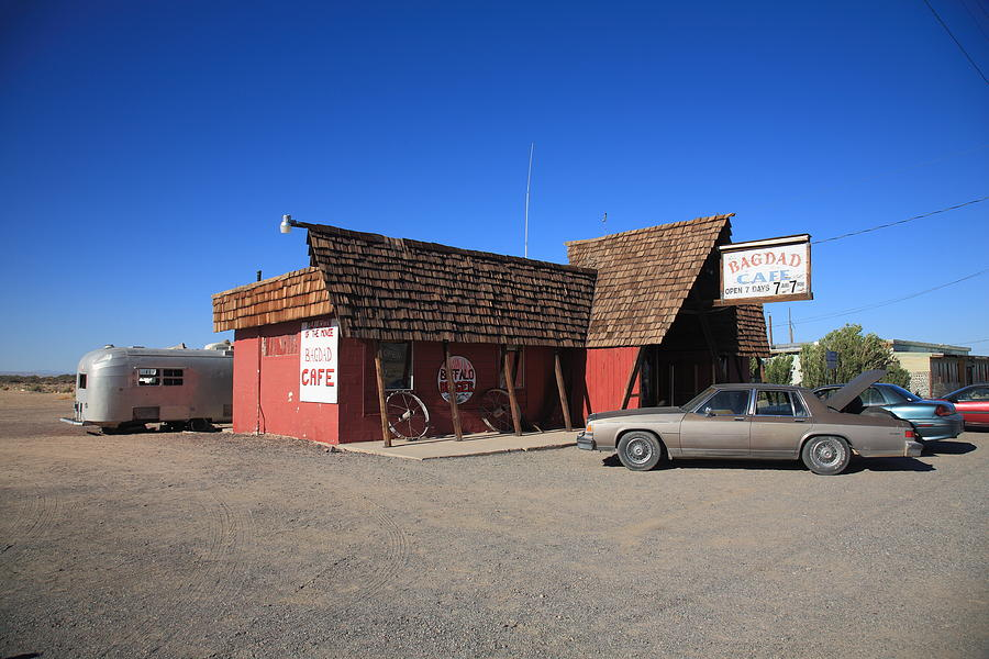 Route 66 - Bagdad Cafe Photograph