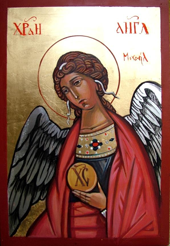 Saint Michael Painting