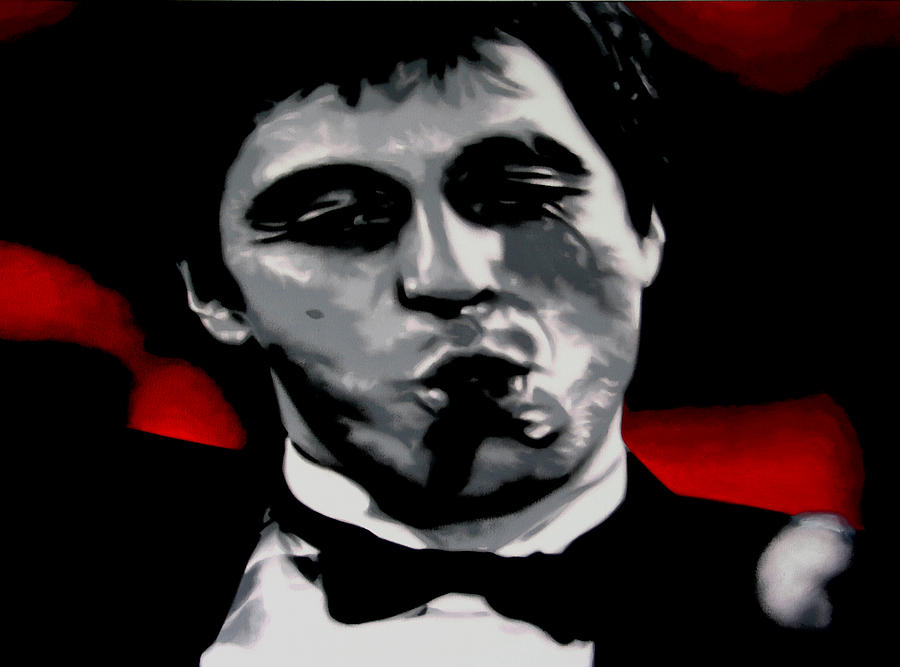 Scarface 2013 Painting