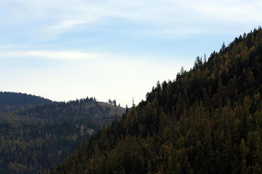 Seeley Lake In Montana Photograph
