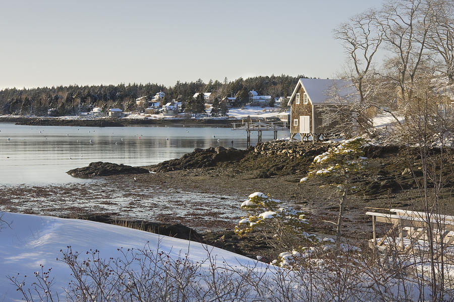 South Bristol On The Coast Of Maine Photograph