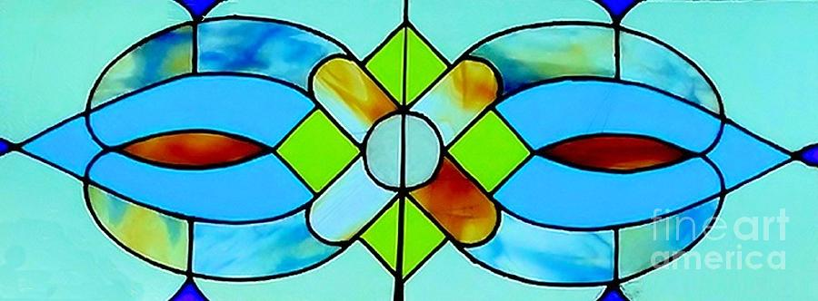 Stained Glass Window Photograph