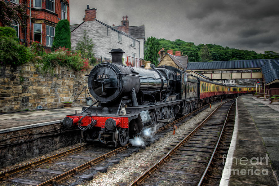 Steam Train Photograph