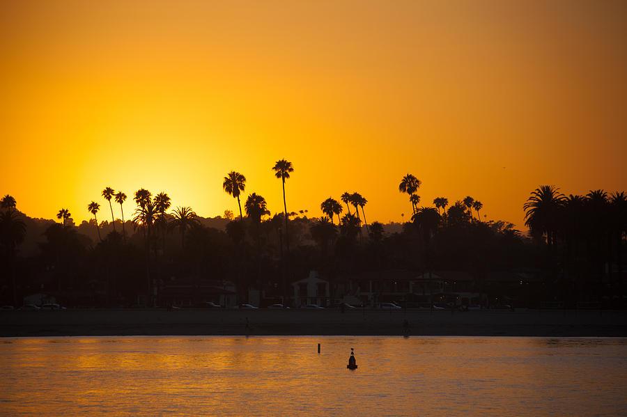 Sunset Santa Barbara Photograph