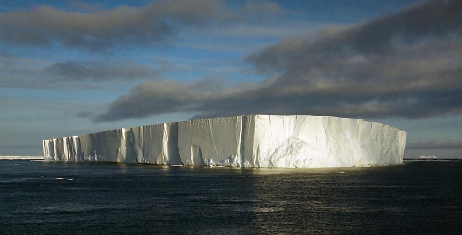 Tabular Iceberg Antarctica Photograph
