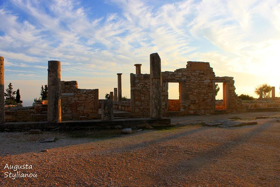 Temple Of Apollo Photograph