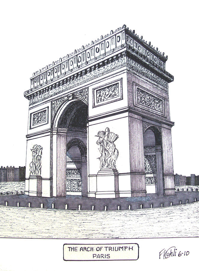 The Arch Of Triumph Drawing