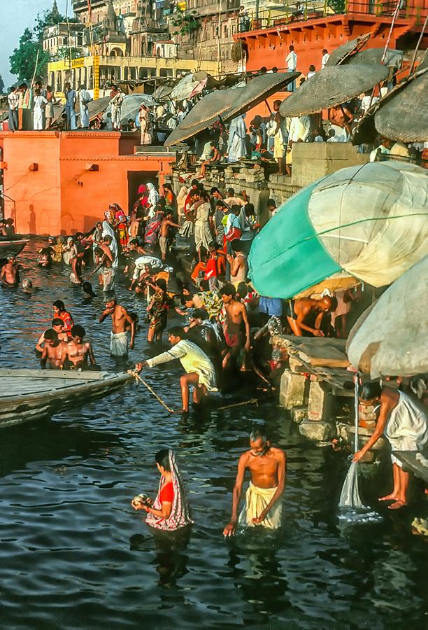 The Bathing Ghats Photograph