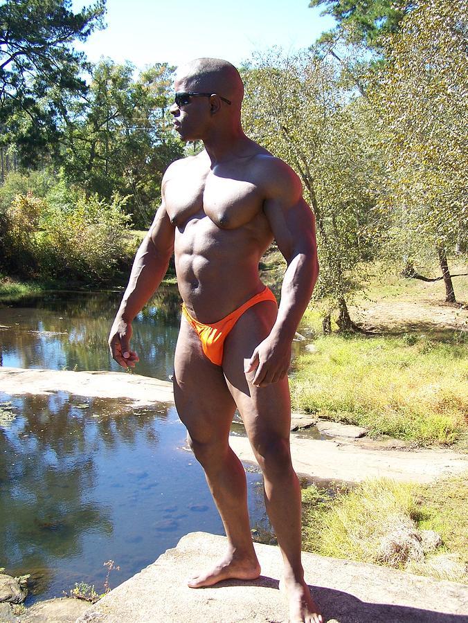 The Bodybuilder Photograph