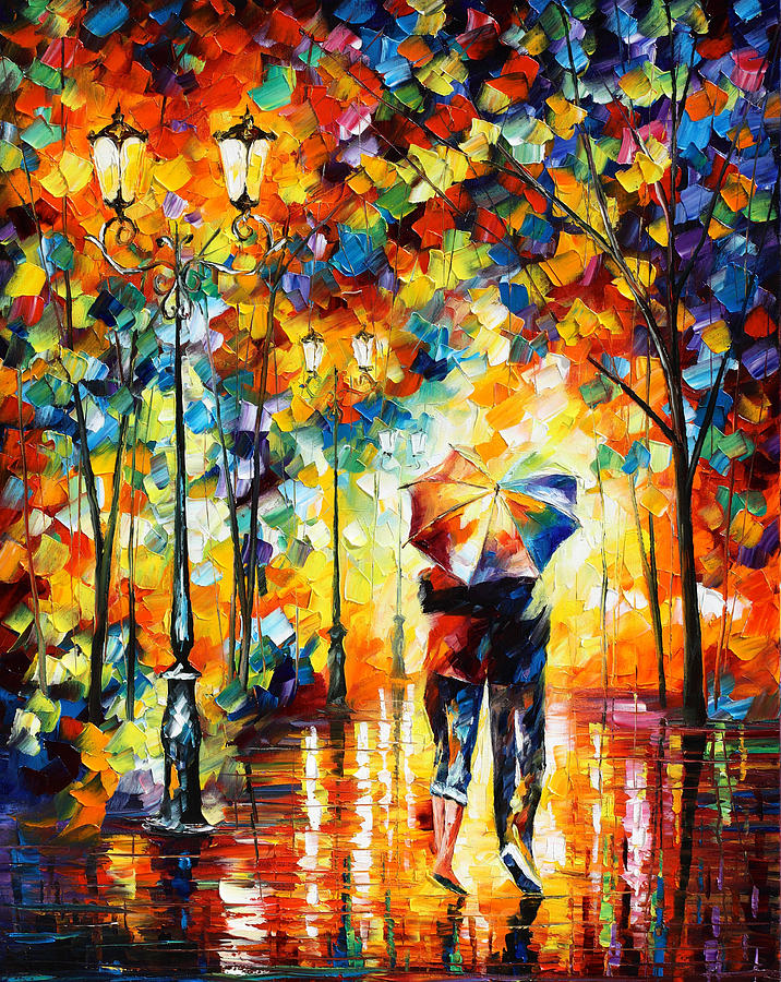 Under One Umbrella Painting