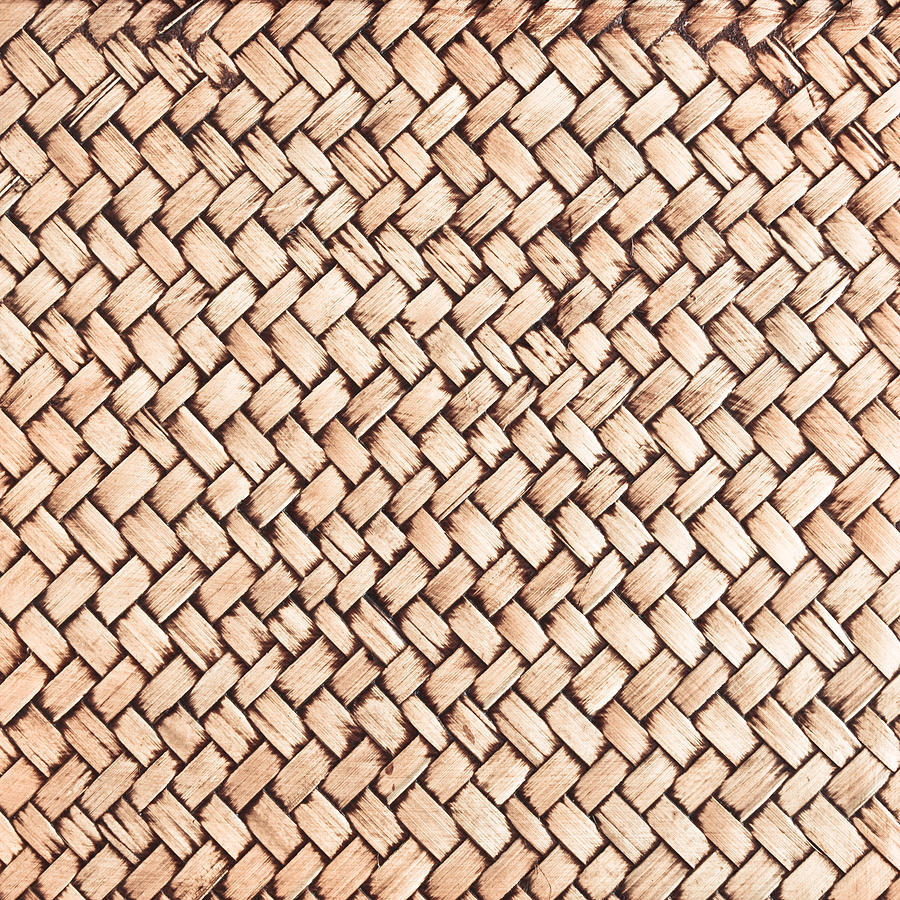 Wicker Background Photograph