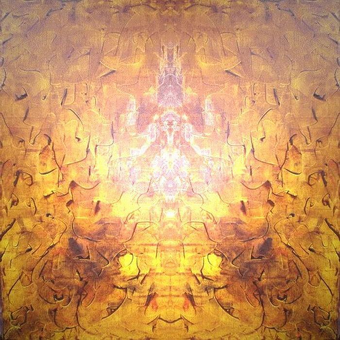 Yellow Digital Art