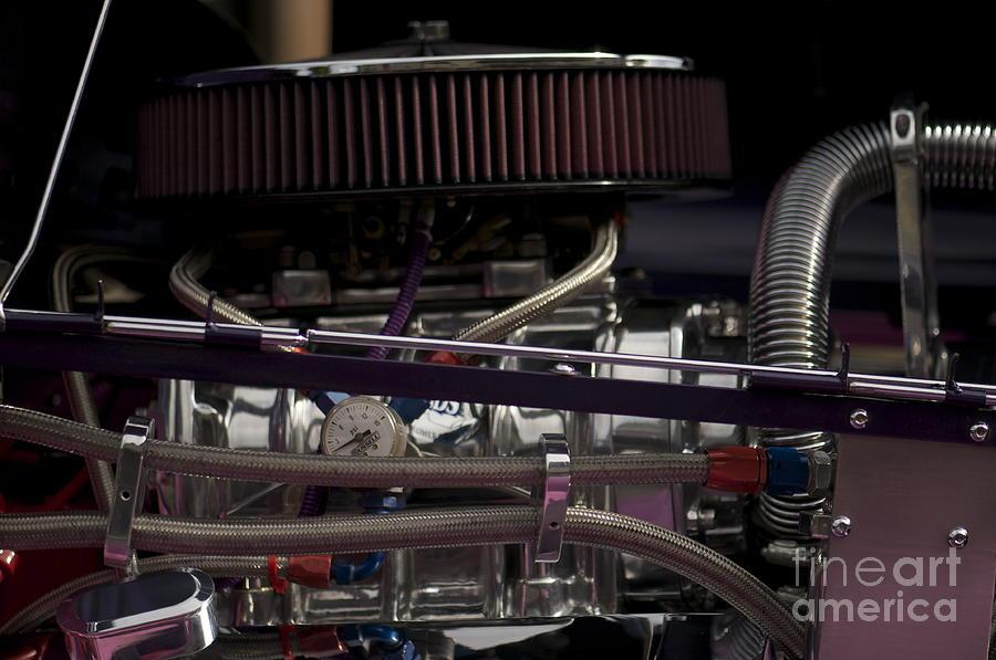 Engine Photograph - 31 Crown Victoria Engine by Sean Stauffer