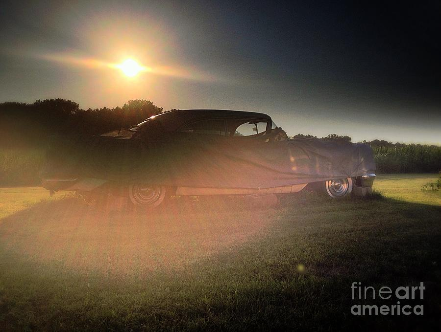 322 Olds Ghost Photograph  - 322 Olds Ghost Fine Art Print