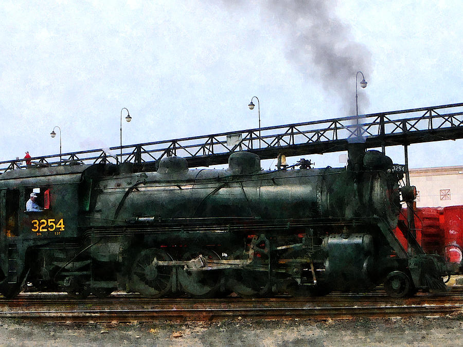 3254 Steam Locomotive Photograph