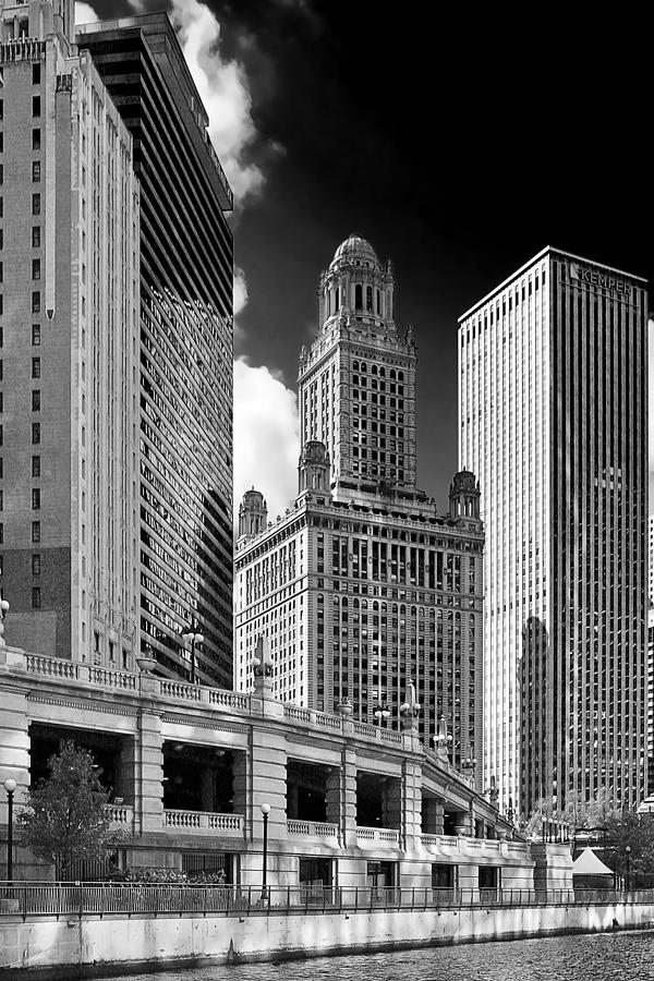 35 East Wacker Chicago - Jewelers Building Photograph  - 35 East Wacker Chicago - Jewelers Building Fine Art Print