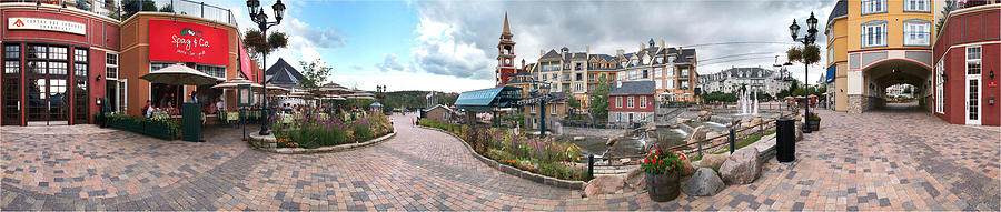 360 View Panorama, Mont-tremblant Photograph  - 360 View Panorama, Mont-tremblant Fine Art Print