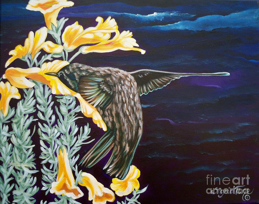 368 Hummingbird Painting  - 368 Hummingbird Fine Art Print