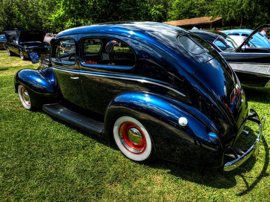 39 Dodge Sedan 002 Photograph  - 39 Dodge Sedan 002 Fine Art Print