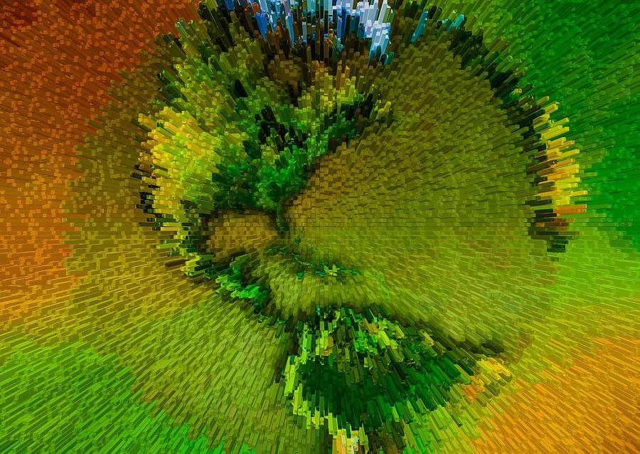 3d Render Of Planet Earth 15 Digital Art