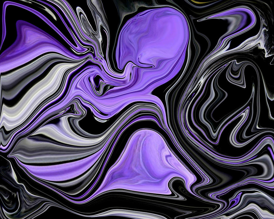 Abstract 57 Digital Art  - Abstract 57 Fine Art Print
