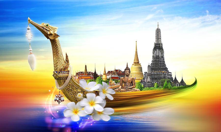 Amazing Thailand Digital Art by Potowizard Thailand