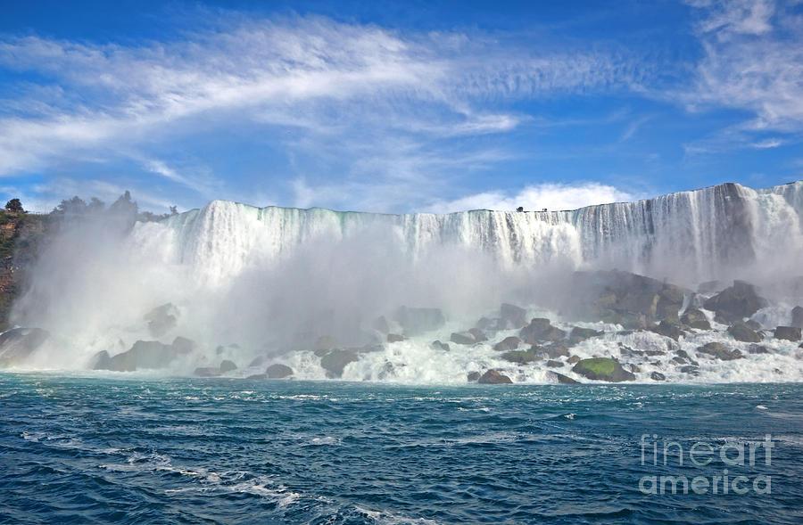 Niagara Falls Photograph - American Falls by Charline Xia