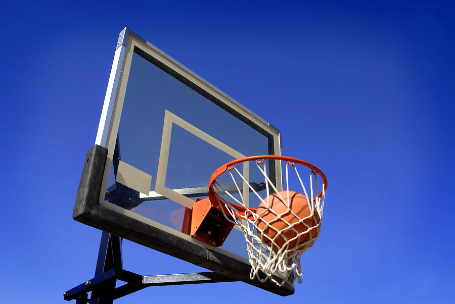 Basketball Shot Photograph  - Basketball Shot Fine Art Print