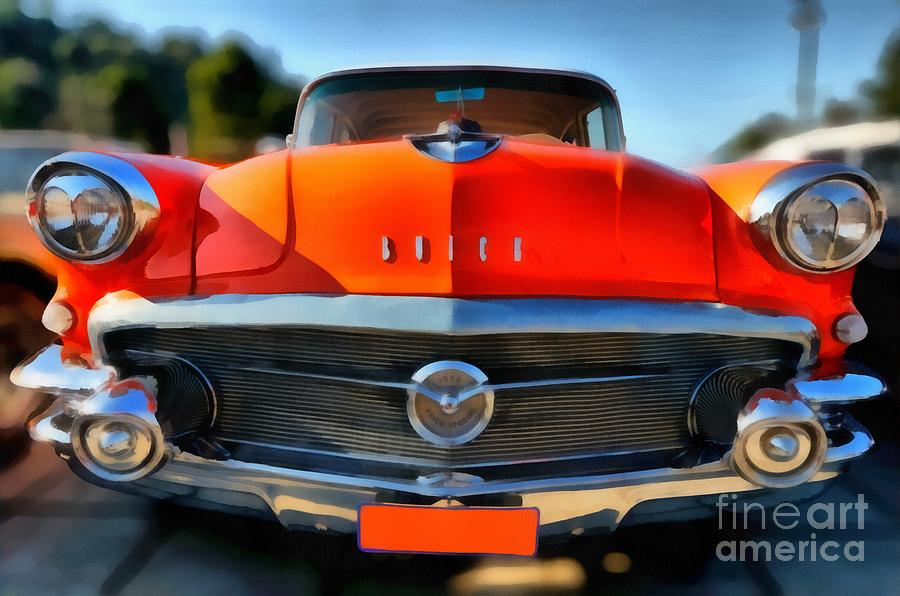 Buick Special 1956 Painting