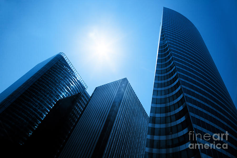 Business Skyscrapers Photograph