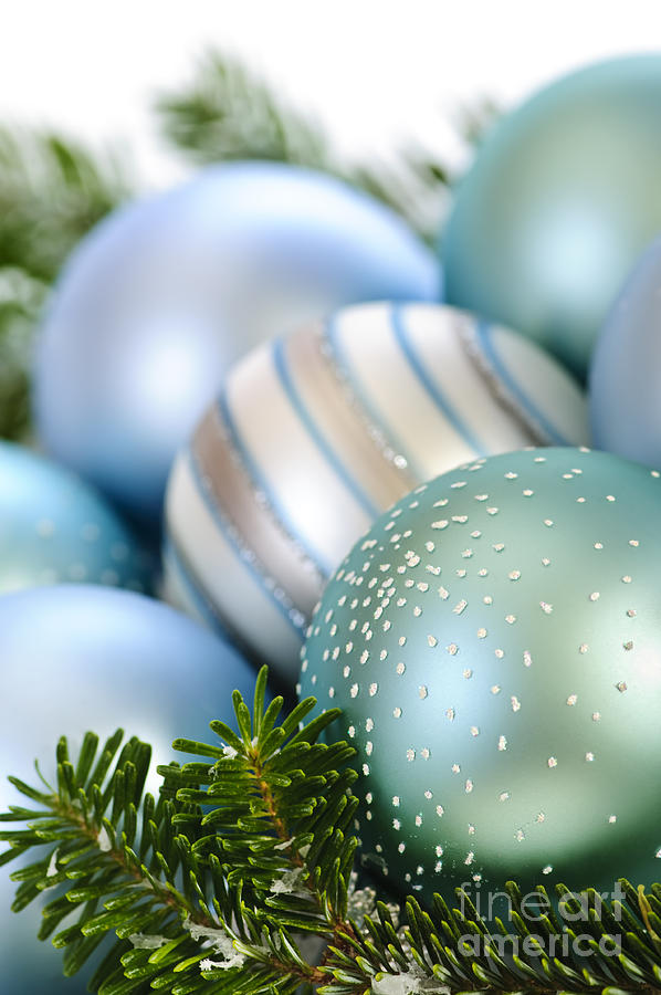 Christmas Ornaments Photograph