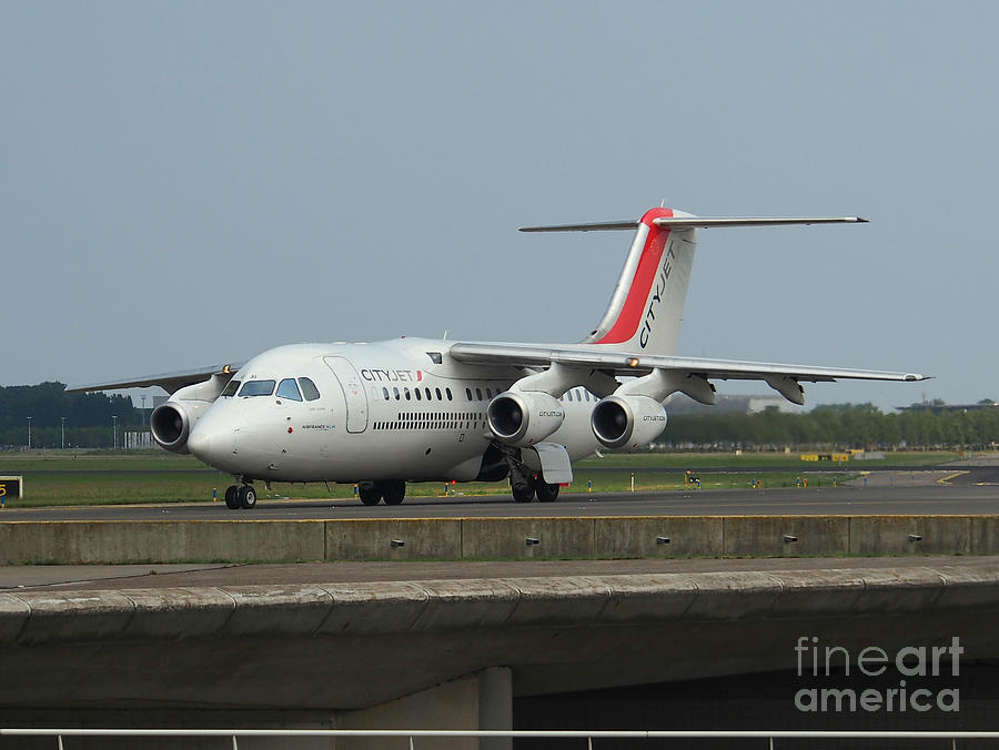 Cityjet British Aerospace Avro Rj85 Photograph