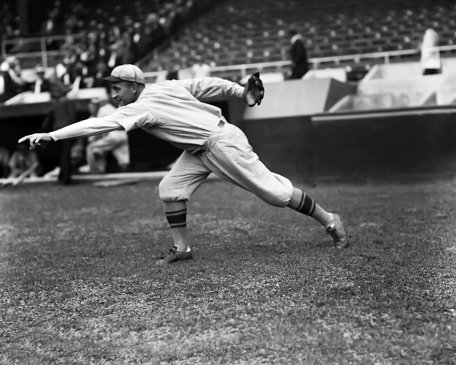 Baseball Photograph - Clarence E. Mitchell by Retro Images Archive