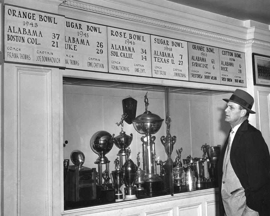 Coach Bear Bryant Photograph