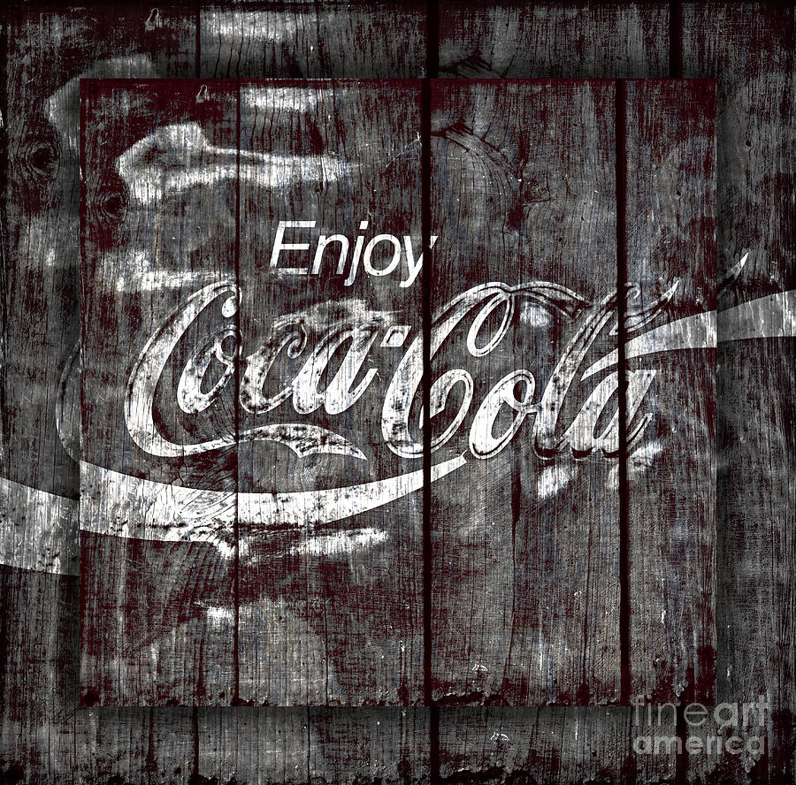 Coca Cola Sign Photograph  - Coca Cola Sign Fine Art Print