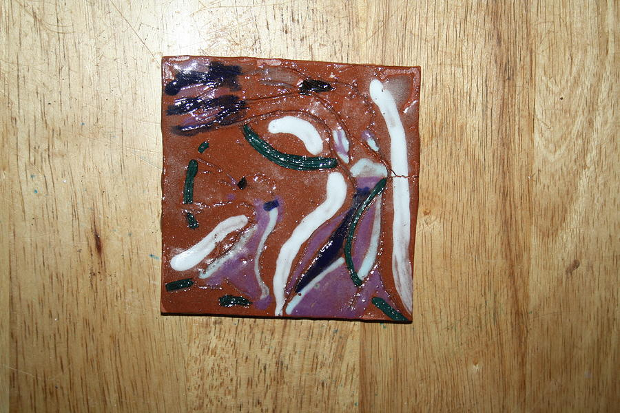 Dance - Tile Ceramic Art  - Dance - Tile Fine Art Print