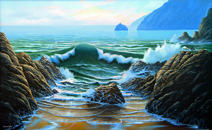 Dancing Tide Painting  - Dancing Tide Fine Art Print