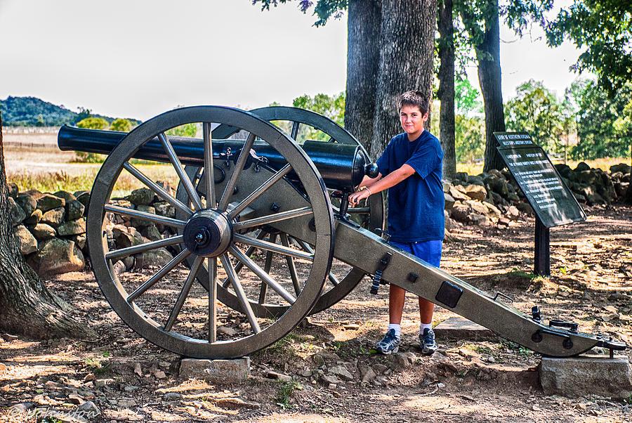 Gettysburg Battleground Photograph