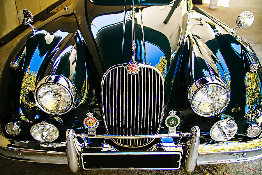 Jaguar Xk 140 Photograph
