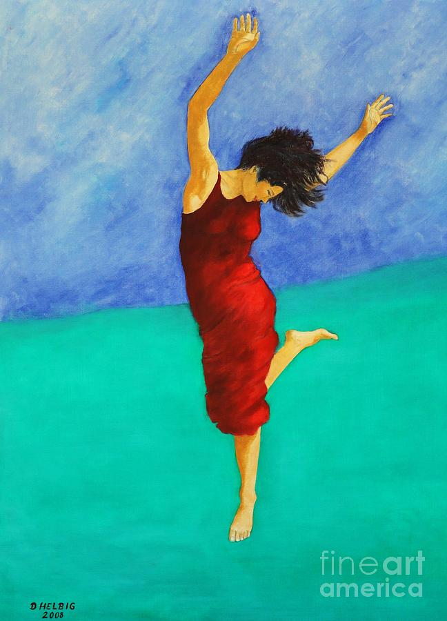 Jump Of Joy Painting  - Jump Of Joy Fine Art Print