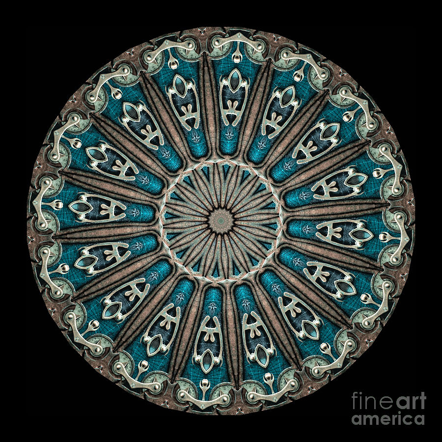 Kaleidoscope Steampunk Series Photograph  - Kaleidoscope Steampunk Series Fine Art Print